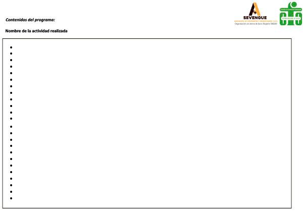 Parte trasera del diploma de la Comisión de Formación Continuada