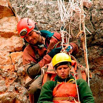 Experto en rescate de montaña online