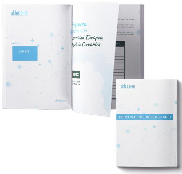 Catálogo para personal no universitario en PDF