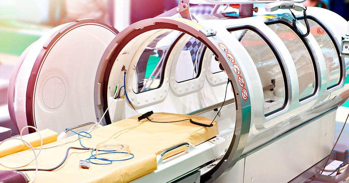 Cámara hiperbárica - Todo lo que tienes que saber sobre la medicina hiperbárica