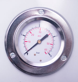 Barómetro de una Cámara Hiperbárica