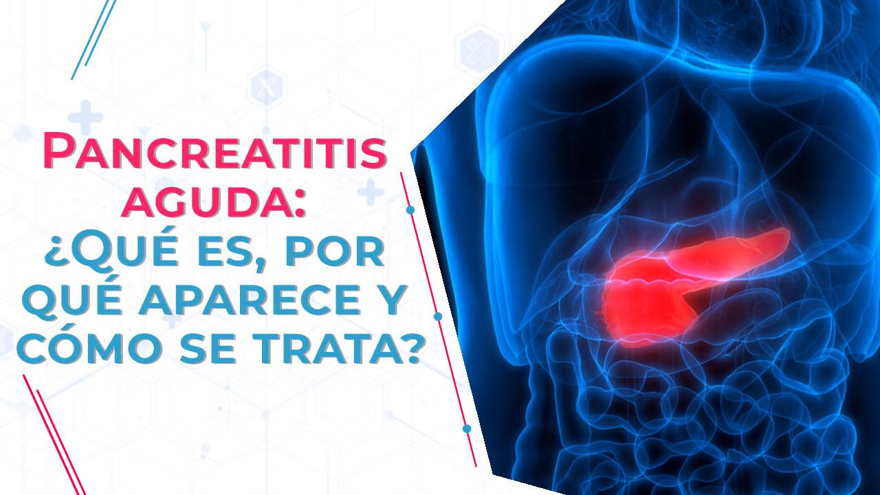 La pancreatitis crónica es recurrente, pero, la aguda comienza repentinamente y puede llegar a ser muy fatal para la persona.