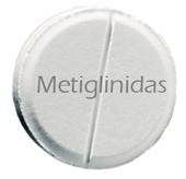 Las metiglinidas, estimulan la secreción de insulina por el páncreas.