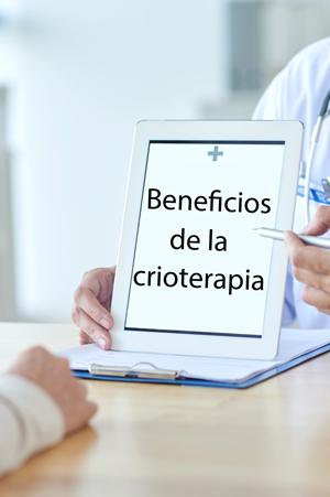 La crioterapia provoca una serie de reacciones con efectos muy beneficiosos.