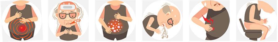 La apendicitis puede tener más de una causa.