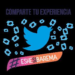 Comparte tu experiencia con ESHE en Twitter