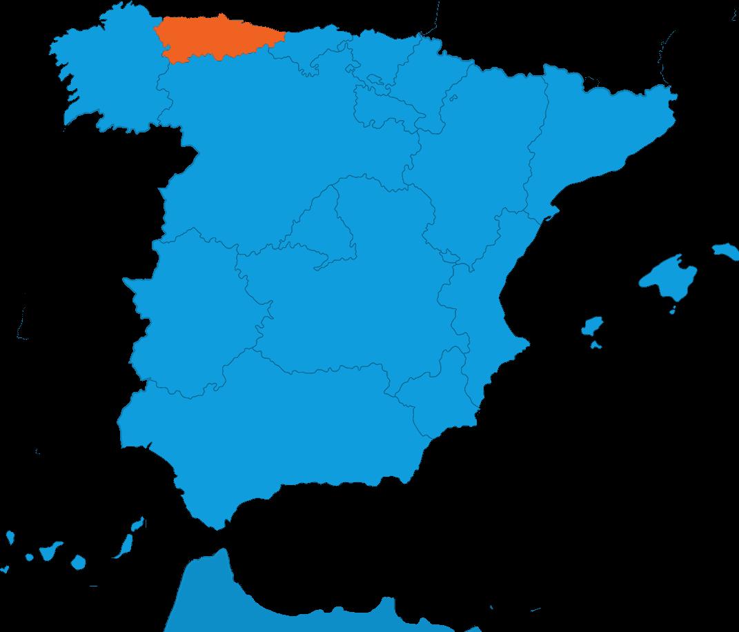 Mapa Prácticas España