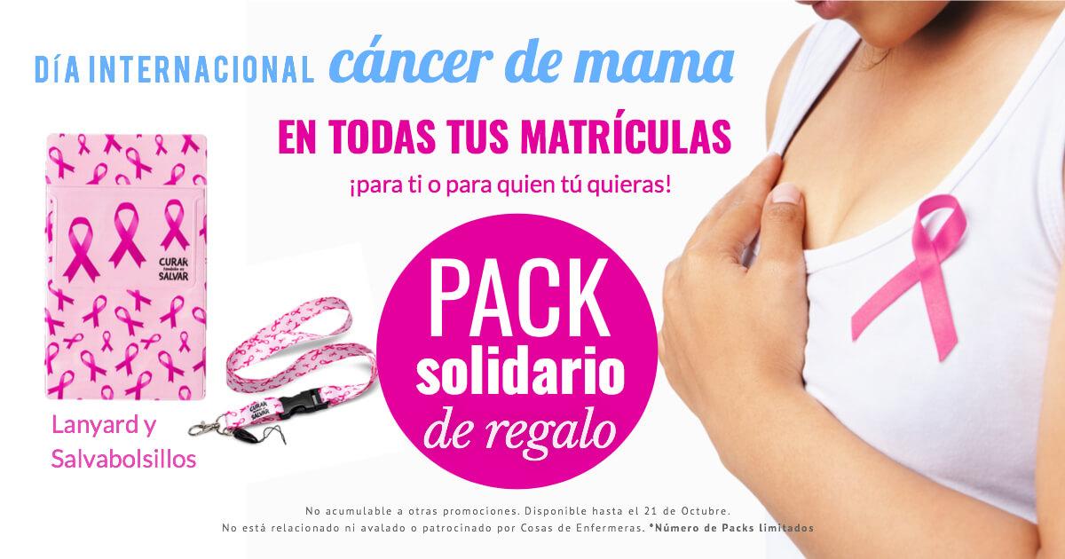 Con motivo del 📅 Día internacional del cáncer de mama podrás encontrar Diplomas, Certificados,