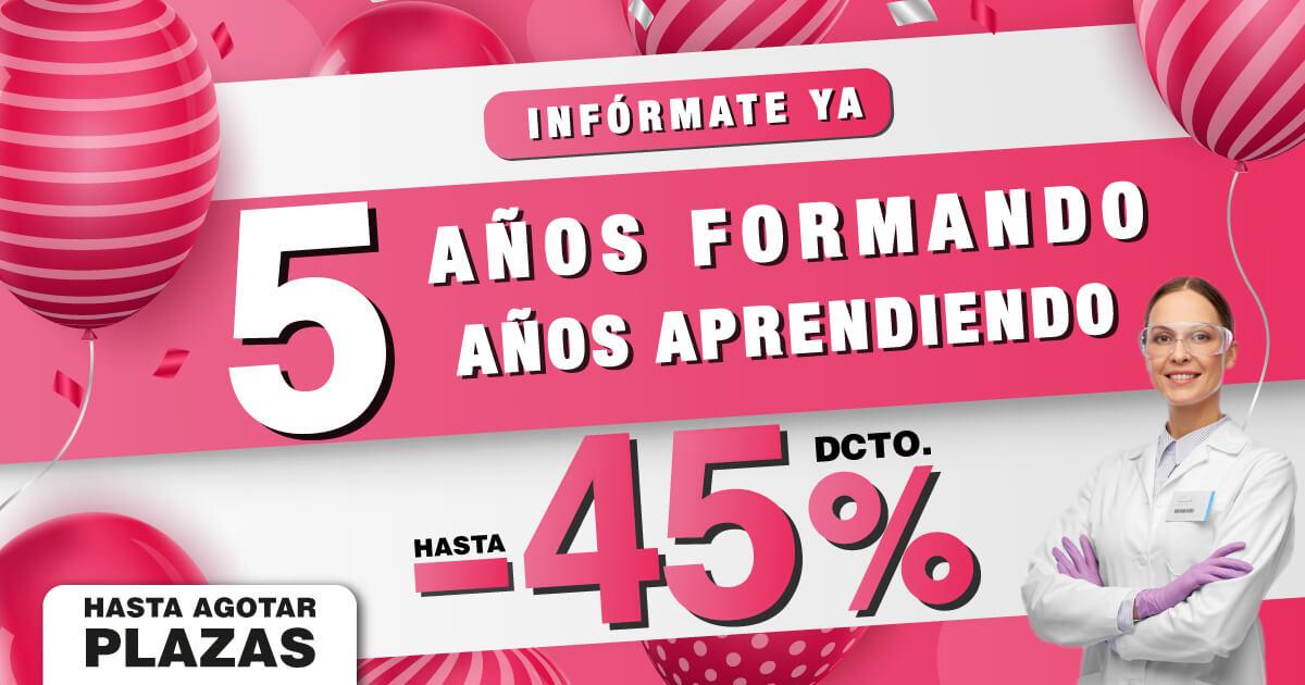 Imágen 🎉 Descuentos de hasta el 45% | 5º Aniversario ESHE 🎊